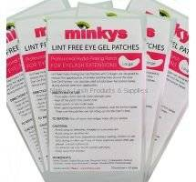 Lint Free Under Eye Gel Patches for Eyelash Extensions