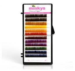 Minkys Rainbow Lashes